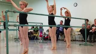 World's best ballerina - Caroline 12-4-2017 Part 2