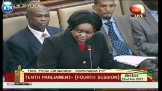 Parliament Pays Tribute To John Michuki