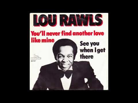 Lou Rawls - You'll Never Find Instrumental