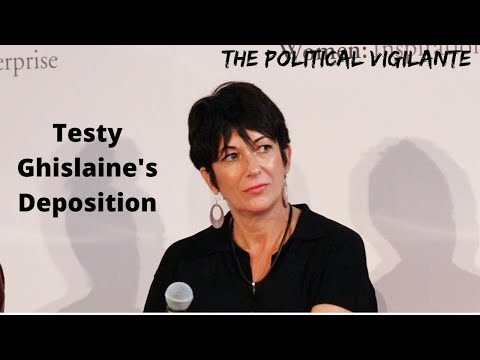 Easily Provoked Ghislaine Maxwell Sounds Guilty In Depostiion