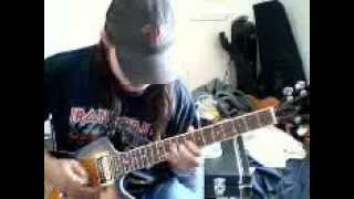 Lets make it - ac/dc  with solo on dean guitar