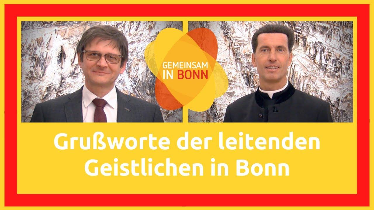 Grußwort der leitenden Geistlichen in Bonn