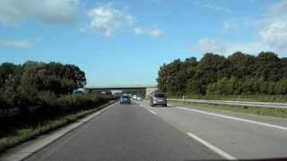 preview picture of video 'A5 Achern bis Appenweier vor dem Ausbau'