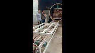 High frequency vacuum wood drying kiln youtube video