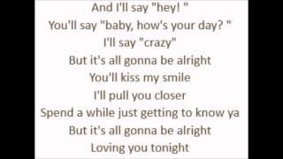 Loving You Tonight - Andrew Allen (Lyrics)