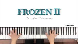 [OST] Frosen2(겨울왕국2) - Into The Unknown(숨겨진 세상)_피아노뿌셔