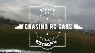 FPV Chasing RC Cars!