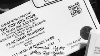 RoadTrip, Zach and Aaron - The Pop Hits Tour London