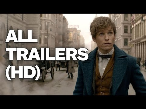 Fantastic Beasts and Where To Find Them - All Trailers (2016)