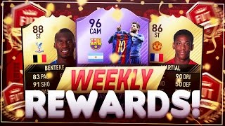 THESE PACKS ARE TOO GOOD!! - FIFA 17 FUT CHAMPIONS REWARDS!