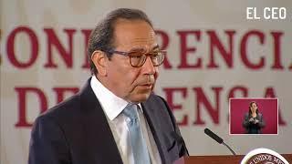Carlos Salazar, presidente del CCE, presenta el primer paquete del Plan Nacional de infraestructura