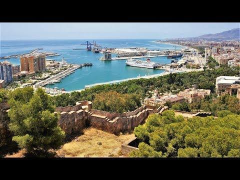 Castillo de Gibralfaro en Málaga, Andalucía