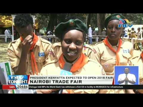 President Uhuru Kenyatta expected to open the 2018 Nairobi Trade Fair