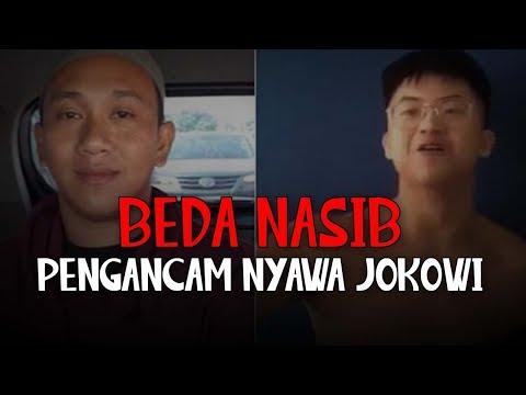 Beda Nasib Pengancam Nyawa Jokowi