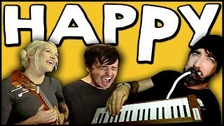 Walk Off The Earth & Parachute - Happy