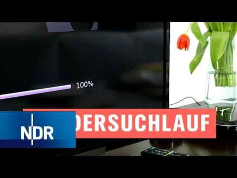 DVB-T2 HD: Sendersuchlauf - So geht's | NDR