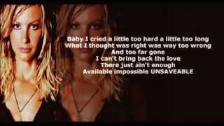 Faith Hill - Unsaveable ( + lyrics 2002)