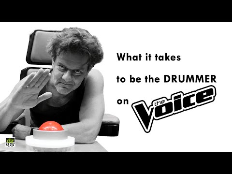 What it takes to be the drummer on The Voice