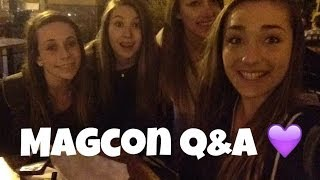 Hanging Out With MAGCON Boys Q&A