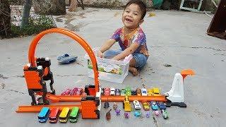 Trò Chơi Đập Siêu Xe ❤ ChiChi ToysReview TV ❤ Đồ Chơi Trẻ Em Baby Doli