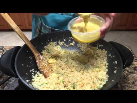 Video Japanese Cauliflower Fried Rice
