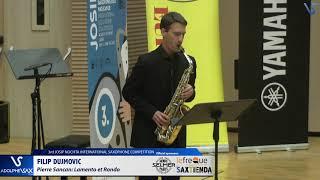 Filip Dujmovic plays Lamento et Rondó by Pierre Sancan