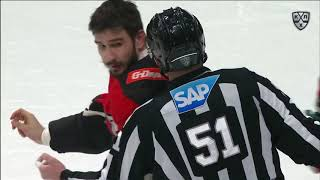 KHL Fight: Voynov VS Glukhov