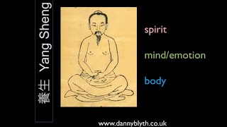 TCM mind body spirit connection and support when not well