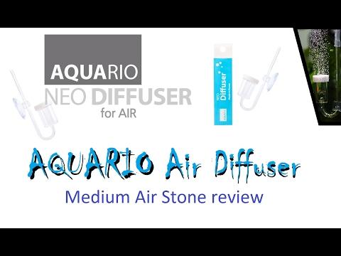 AQUARIO NEO Air Diffuser (Medium) – Setup, Test, In depth review (Air stone, Aeration)