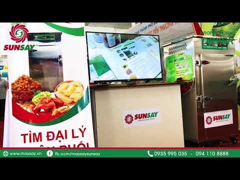 Máy sấy lạnh SUNSAY tham gia hội chợ nông nghiệp Quốc tế 2020 tại Cần Thơ