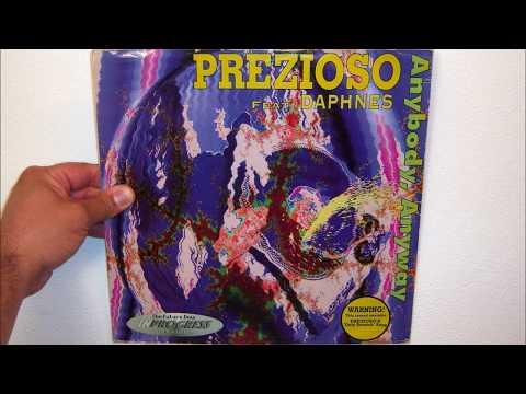 Prezioso Featuring Daphnes - Anybody, anyway (1994 Club mix)