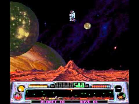 Super Dropzone SNES