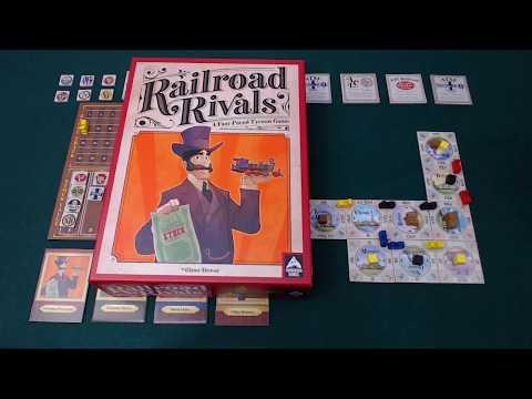 Pit Stop: Railroad Rivals
