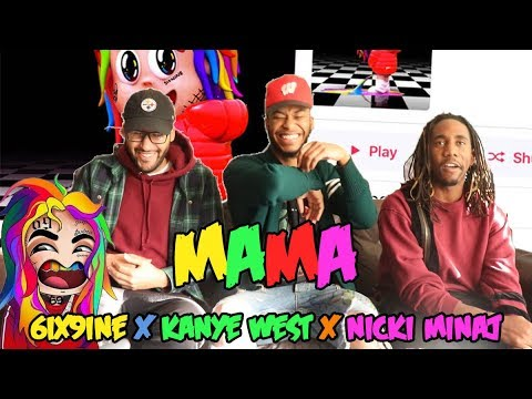 6IX9INE ft Kanye West and Nicki Minaj - MAMA Reaction/Review