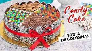 Torta Fácil De Golosinas - Candy Cake / Cositaz Ricaz