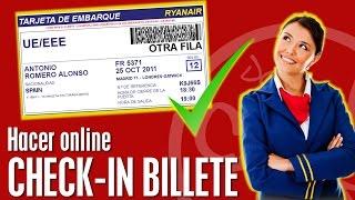 ✈️Check-in para poder volar sin problemas facturar billete avion RYANAIR- IBERIA- VUELING- 2018