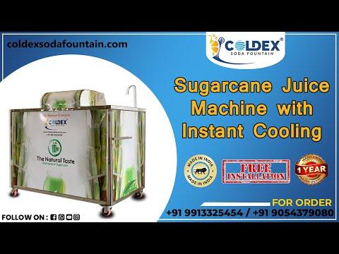 Sugarcane Juice Machine With Instant Chiller
