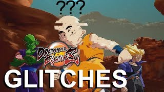 Top 5 Cool, Funny, and Gamebreaking Glitches in Dragon Ball FighterZ!