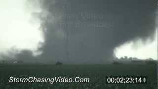 6/20/2011 Bradshaw Nebraska Tornado Stock Footage.