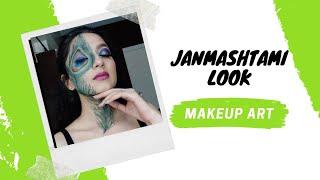 JANMASHTAMI MAKEUP ART | Devshree Creates