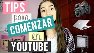 Tips/Editores para tu canal de YouTube