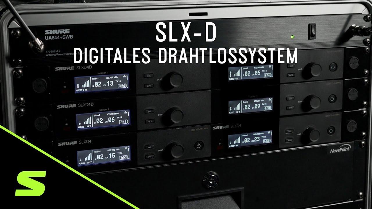 SLX-D digitales Drahtlossystem