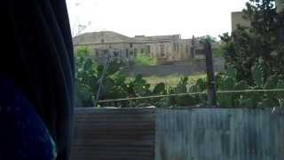 preview picture of video 'Famagusta Cyprus Abandoned in 1974 - Part of A Bus Tour With Commentary'