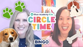 BINGO | Dog Facts for Kids | Workout with Coach Kelli