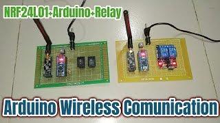 arduino tutorial arduino nrf24l01 wireless tutorial with
