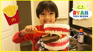 Pretend Play Brushing Teeth Learning Toys For Kids