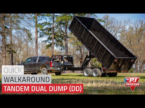 2020 PJ Trailers Tandem Dual Dump (DD) 20 ft. in Paso Robles, California - Video 1