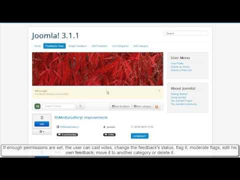 Ep.31 - RSFeedback! - Joomla! feedback component - frontend presentation