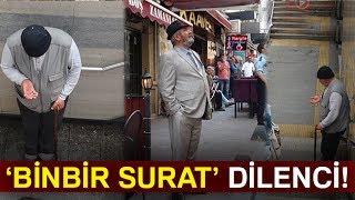 "İstanbul'da ""Binbir Surat"" Dilenci Kamerada"