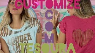 DIY: 4 Maneiras De Customizar Sua Camiseta Com Tesoura